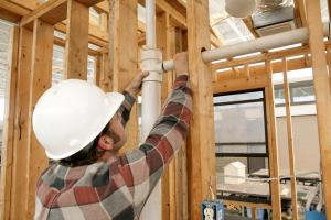 Commercial construction by our Mesquite plumbing contractors